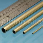 Brass tube alb 8x0.45mm (2)
