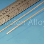 Phosphor bronze strip alb 1x0.135mm (2)