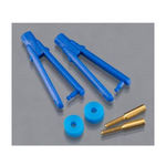 Clevis dubro micro long arm .047`` blue