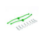 Body clip du-bro retainers (lime green)