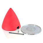 Spinner esm p-40 50cc 4 blade (red)
