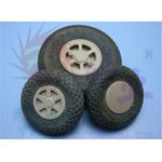 Wheels hao rubber (127mm 5 )scale sls