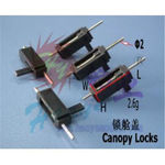 Canopy locks haoye 26x9x8.5mm