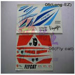 Decal set haoye (fly cat)