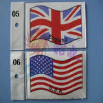 Decal set haoye (80 x 130mm) - usa