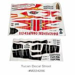Decal sheet mpx tucan
