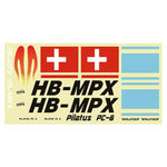 Decal mpx pilatus pc-6 (blue)