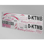 Decal sheet mpx easyglider pro
