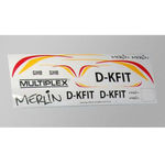 Decal sheet mpx merlin sls