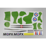 Decal sheet mpx dogfighter