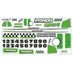 Decal sheet mpx panda (var) (724649)