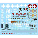 Decal set sebart pc-21 50e v2  rwb