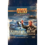 Blue box pilot george w bush