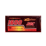 Battery dp 6.6v1600 (20c) rx (lifep04)