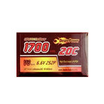 Battery dp 6.6v1700 (20c) rx (lifep04)