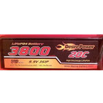 Battery dp 9.9v3800 20c tx life mpx sls
