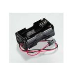 Battery holder hitec h/ch rx (4cell)