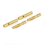 Ace gold connector 2.0mm (2 pairs)