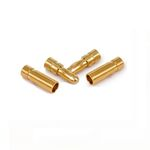 Ace gold connector 2.5mm (2 pairs)