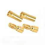 Ace gold connector 3.5mm (2 pairs)