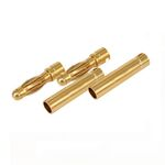 Ace gold connector 4.0mm (2 pairs)