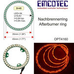 Led afterburner ring emcot 45mm sls