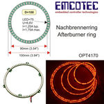 Led afterburner ring emcot 100mm sls