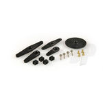 Servo arm hit set 25ts plastic hitec 1mm