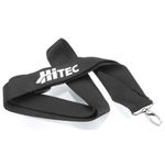 Neck strap hitec (black & red)