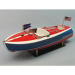 Kit dumas 16` chris-craft painted racer