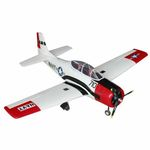 Kit dynam t-28 trojan 1270mm red (pnp)