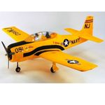 Kit dynam t28 trojan 1270mm yellow (pnp)