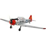 Kit dynam at-6 texan 1370mm silver (pnp)