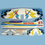 Kit hackerf super zoom xl arf blue