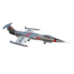 Kit sebart f 104 starfighter edf silver