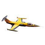 Kit sebart f104 starfighter edf yellow